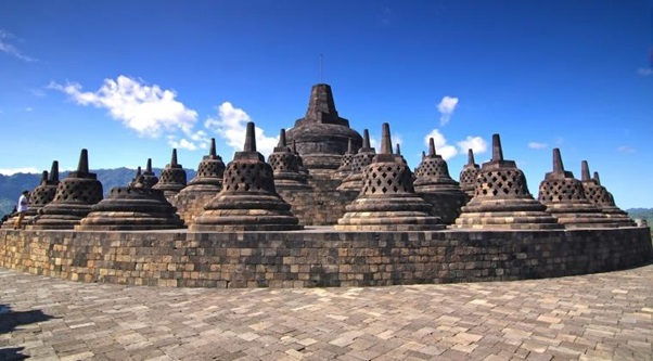 The Geography and History of Borobudur