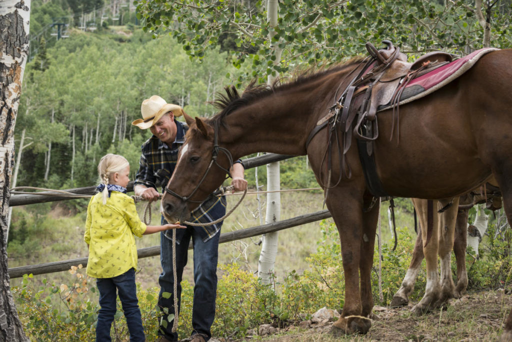 A discussion on equestrian riding in Park City, Utah.