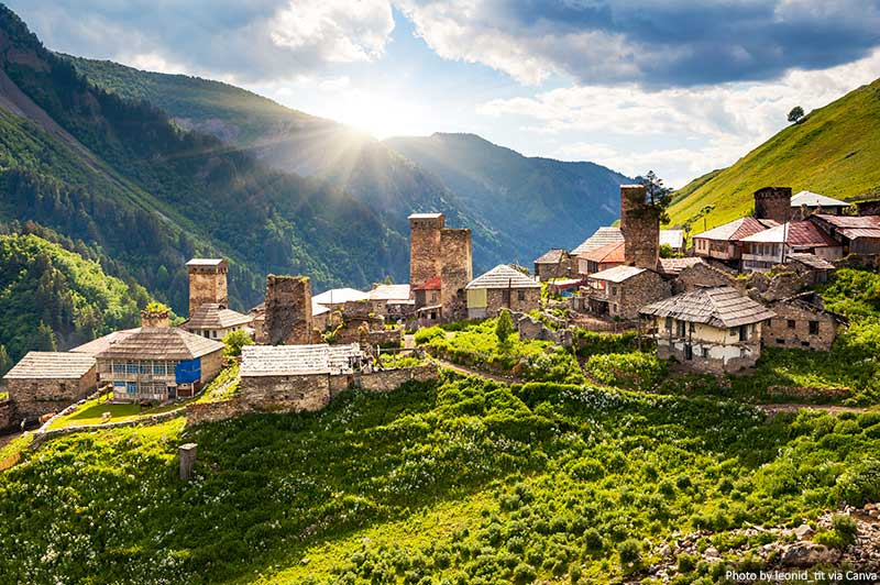 The Most Beautiful Areas to Visit in Georgia